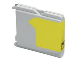 Cartouche compatible Brother LC970 / LC1000 Yellow