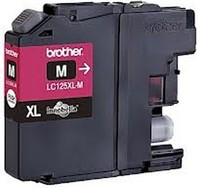 Cartouche Brother LC125 Magenta