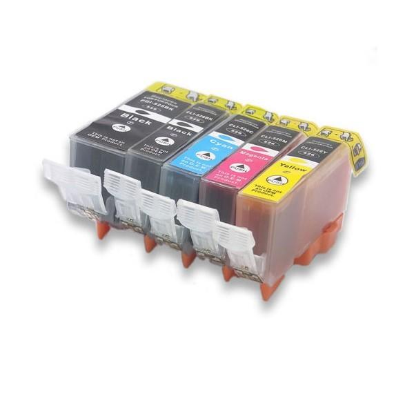 Pack Cartouches compatibles CANON PGI525/CLI 526
