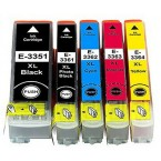 Pack 5 cartouches compatibles Epson N°33XL