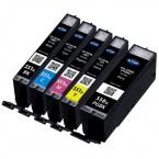 Pack 5 Cartouches compatibles Canon PGI-550XL / CLI-551XL