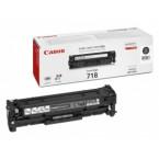 Toner origine Canon 718 Black 3.400 copies