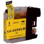 cartouche  compatible yellow Brother LC225