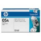 Toner Laser Origine HP - Noir - CE505A / 05A