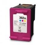 Cartouche compatible HP N°302XL Couleur F6U67A